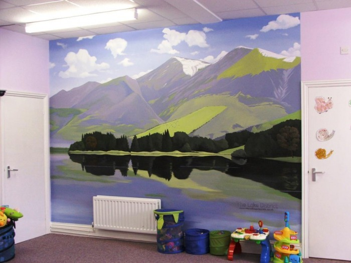 Mural painting bideas productions singapore large format for Extra mural meaning